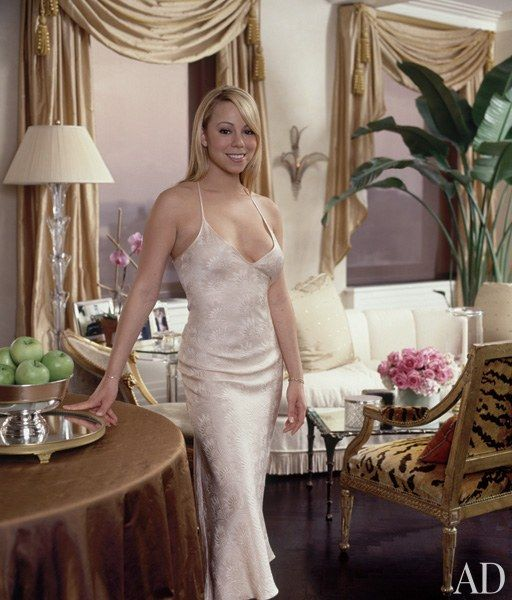Mariah Carey's New York Triplex Photos | Architectural Digest