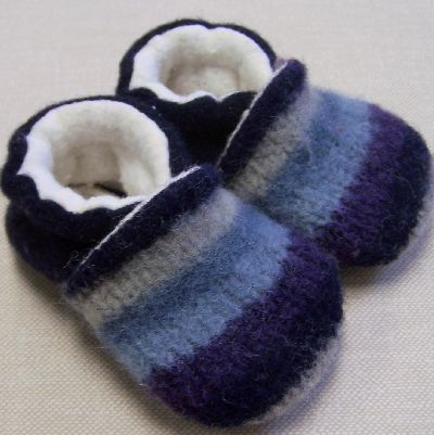 Lil' Monkey Cheeks - Recycled Wool Slippers, $29.99 (http://www.lilmonkeycheeks.ca/recycled-wool-slippers/)