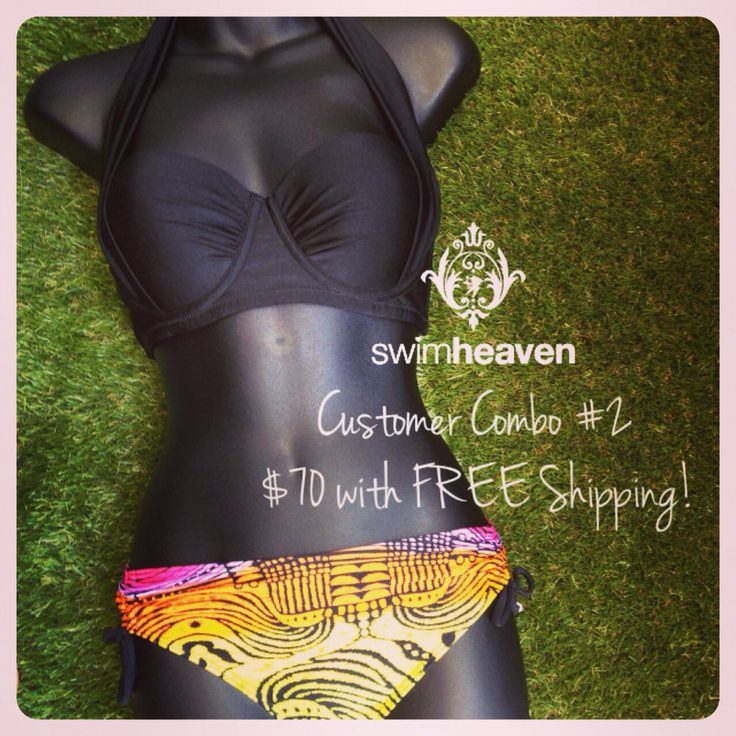 What you're wearing this month... This Lucky Customer has just scored herself an entry with purchase into the draw for this season's Swim Heaven $100 GIFT VOUCHER - valid for One Year from date of issue! Simply Like, Share, Comment or Tag any Swim Heaven Photo this season for an entry! Each purchase will also be an automatic entry per transaction. SHOP HERE: http://www.swimheaven.com.au/catalogsearch/result/?q=%22Customer+Combo+2%22