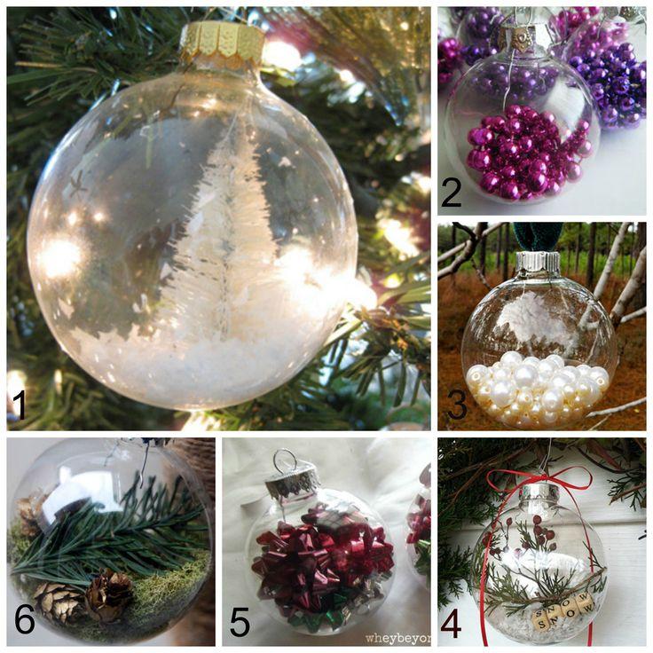 20 modèles de boules de Noël faciles à bricoler.