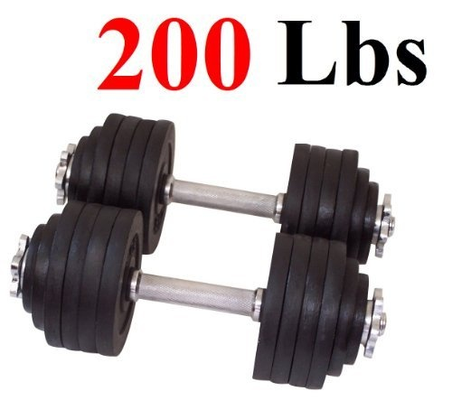 One Pair of Adjustable Dumbbells Kits - 200 Lbs (100lbs X 2pc) by Star Ring, http://www.amazon.com/dp/B0087T8UOE/ref=cm_sw_r_pi_dp_FPhQrb02WER2X