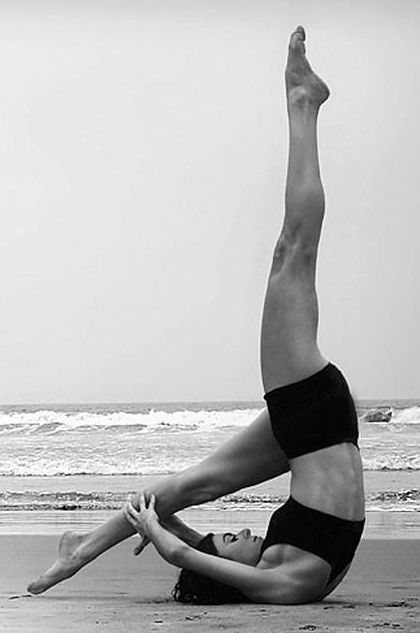 Love this Yoga pose.