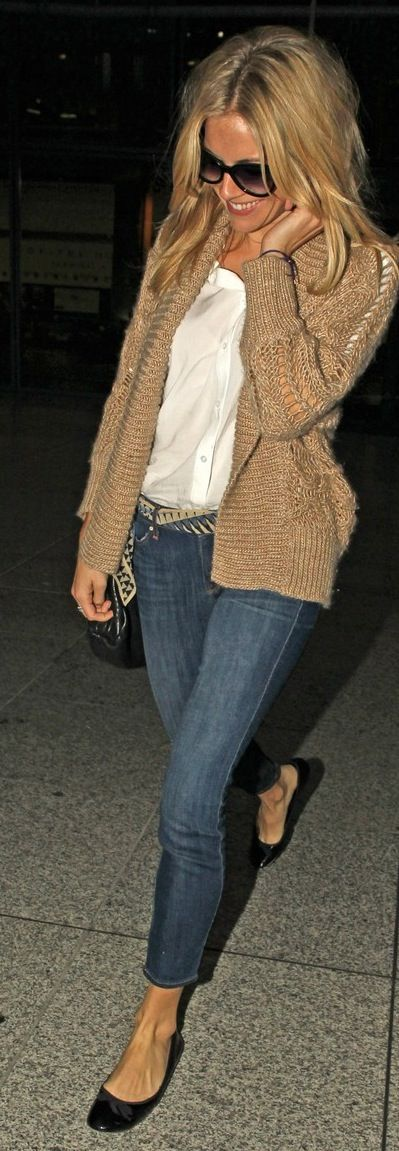 outfit & hair......sienna miller may be my new hair crush (not her most recent cut but this one).