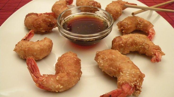 Krewetki W Cieście Filo to bardzo dobry pomysł na wieczorną kolację. Kuchnia Wietnamska na polskich stołach to coś rewelacyjnego