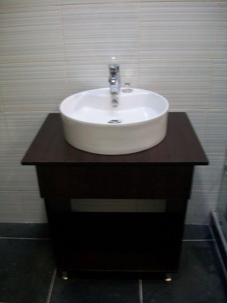 Fabricado por c g arte y decoraci n mueble de ba o con for Fabrica muebles bano