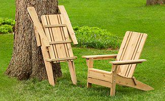 Folding Adirondack Chair Project - Lowe's Creative Ideas