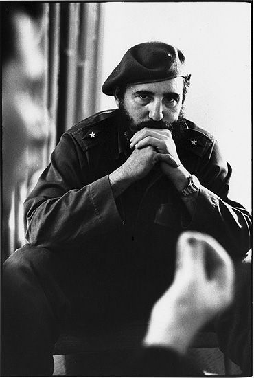 Marc Riboud //   Fidel Castro, 1963