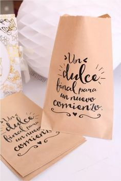 20 bolsas de papel kraft bodas eventos mesas de dulces