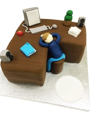 Computer Cake - £59.95 - Buy Online, Free UK Delivery
