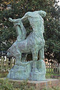 Antoine Bourdelle ,Centaure mourant, Montauban, musée Ingres.
