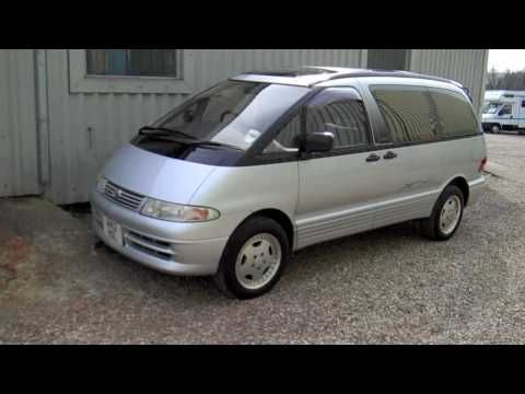 toyota estima GP MOTORWORKS CAR & CAMPER SALES ISLE OF WIGHT - gpmotor@aol.com -NOW SOLD!! - YouTube