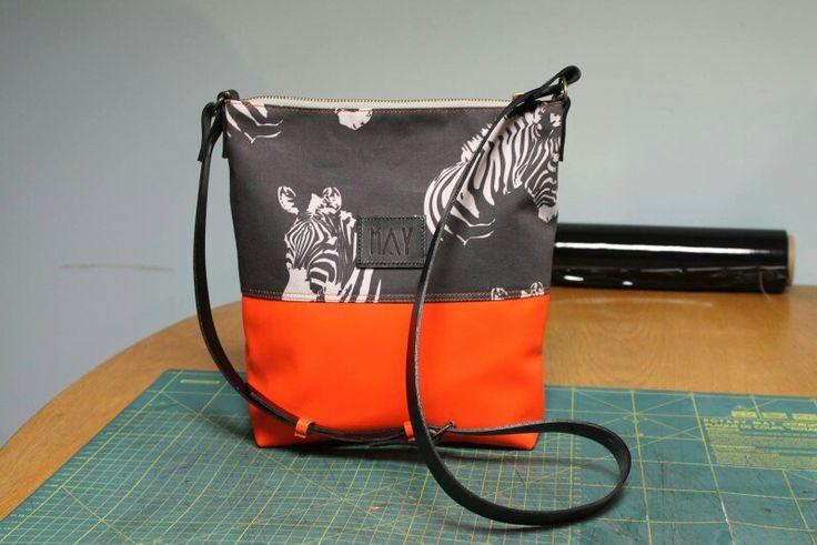 Torebki od BAGS BY MAY uszyte z drukowanych u nas tkanin ;)
