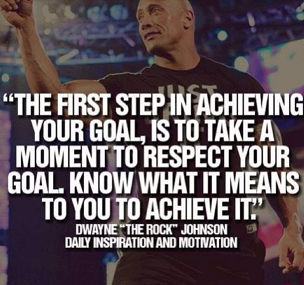 Don't stop until you've achieved what you want too!