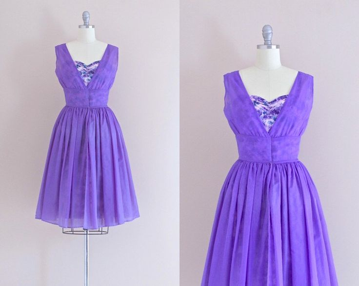 vintage 1950s dress • sheath dress with overcoat • lavender dress • chiffon dress • party dress • xs small by PickledVintage on Etsy https://www.etsy.com/listing/242681528/vintage-1950s-dress-sheath-dress-with