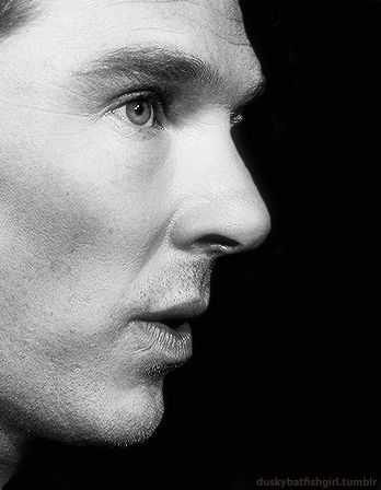 Awesome black and white Benedict Cumberbatch