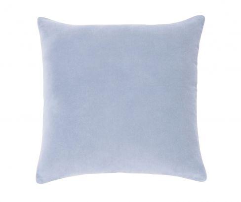 Lewis Velvet Blue Square Cushion #pastels
