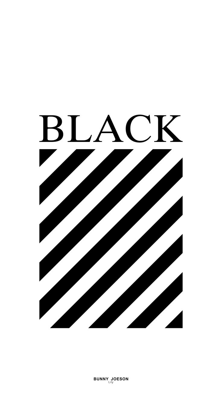 BLACK, OFF-WHITE