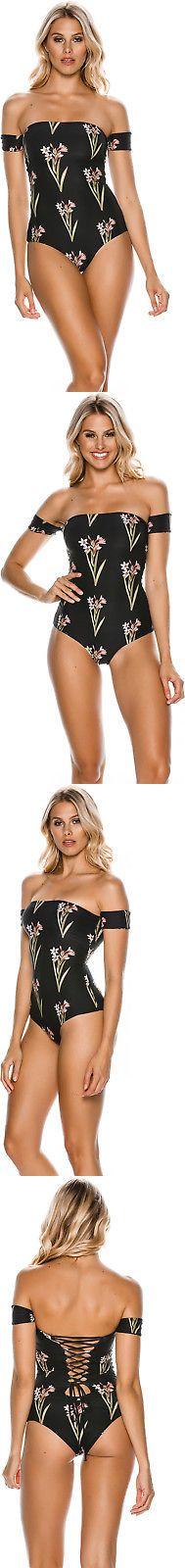 Swimwear 63867: New O Neill Women S Farah One Piece Lace Elastane Black -> BUY IT NOW ONLY: $79.45 on eBay!