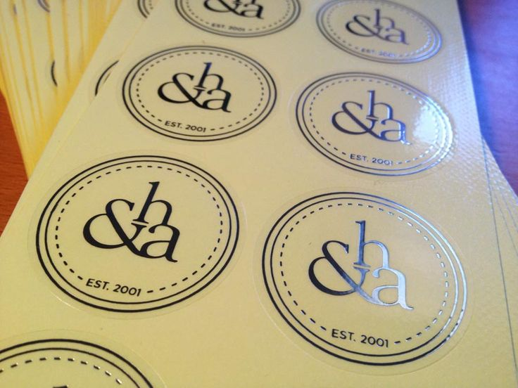 Silver Foil finished Clear stickers. Shiny & Pretty!