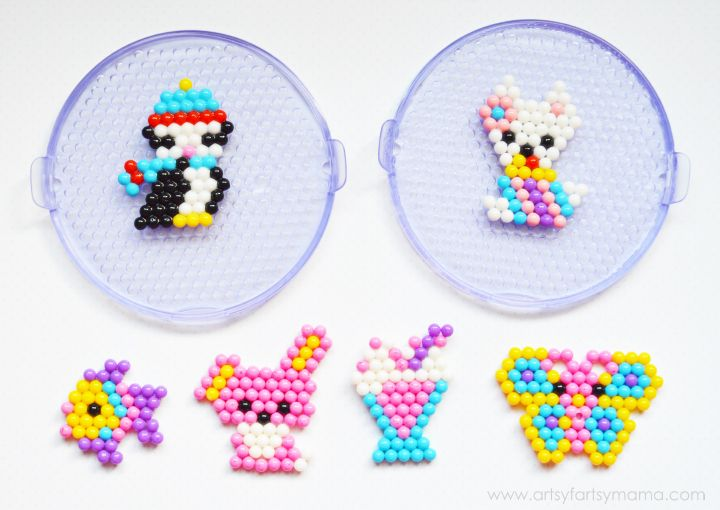 Beados Crafternoon at artsyfartsymama.com #Beados #kidscrafts