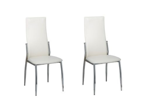 2 Esszimmerstühle Essgruppe Stuhlgruppe Sitzgruppe Küchen Stuhl Stühle weiß NEUsparen25.com , sparen25.de , sparen25.info