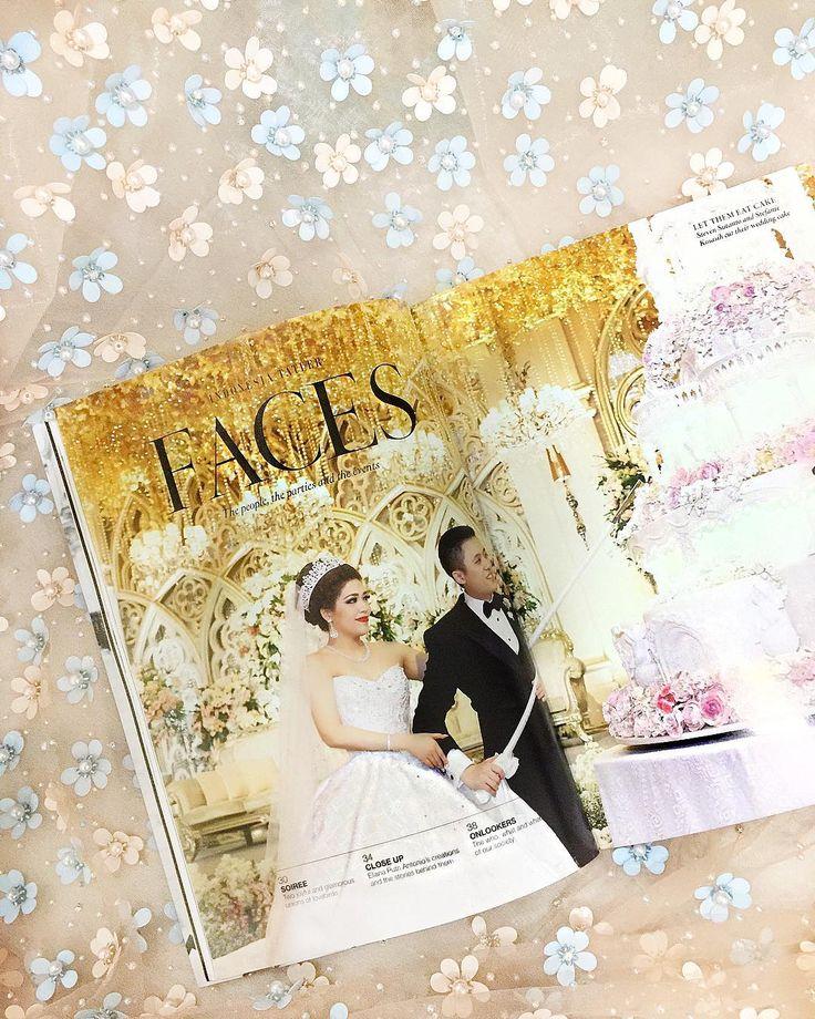 review at @indonesiatatler June Edition featuring our bride @stefaniekho . . #courtesy of Steven & Stefanie .  #Makeup & #hairdo @susykleo . #accessories @rinaldyyunardiofficial . #Photography  @axioo @awie . #Videography @axioo @Valentinogarry . #Decoration @yu_cienlotus @johan.k.lotus . #Bouquet @thecoppelia . #weddingshoes @giussepezanotidesign . #Tuxedo @agusslim . #Brooch @rinaldyyunardiofficial . #Shoes @Hermes . #Host  @becktum . #Organized by @bigenterprisewo @bigsonalandro…