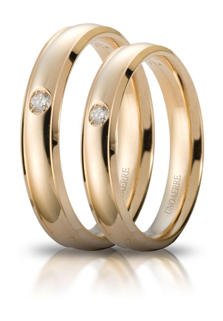 Fedi Unoaerre con diamanti www.fasologioielli.com