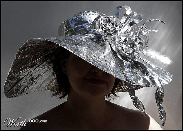 tin foil hat how to make
