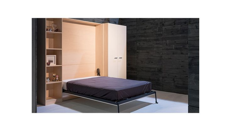 BOONE opklapbed BASE Selecta verticaal kastbed ruimtebesparend, Boone, Wallbed, Opklapbed, Murphy Bed