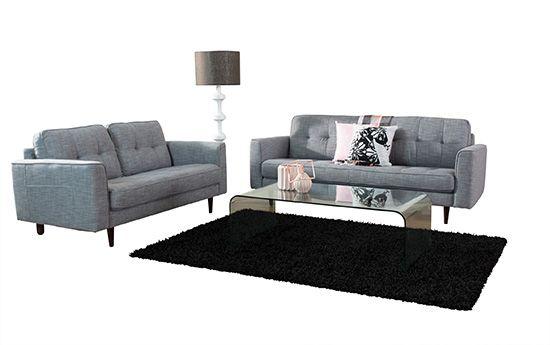 Demi 3+2 Seater Lounge Melbourne | Adriatic Furniture