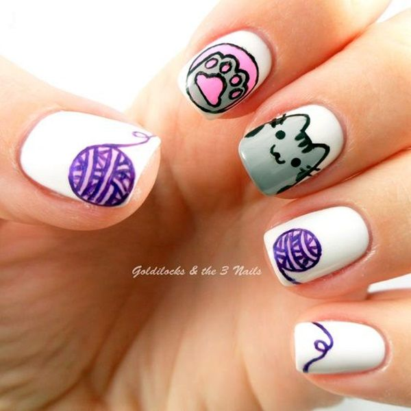Best 25 animal nail art ideas on pinterest animal nail designs 45 cute animal nail art prints thatre truly inspirational prinsesfo Choice Image