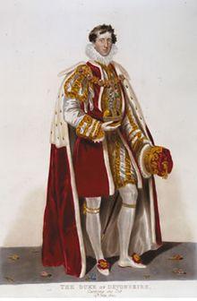 """The Bachelor Duke"" William Cavendish, 6th Duke of Devonshire - Wikipedia, the free encyclopedia"