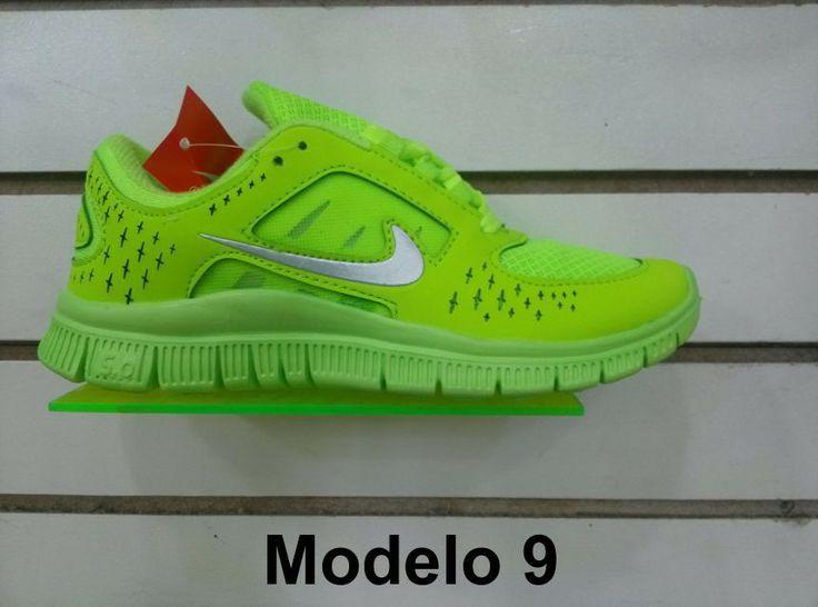 Zapatos Nike Free para Damas
