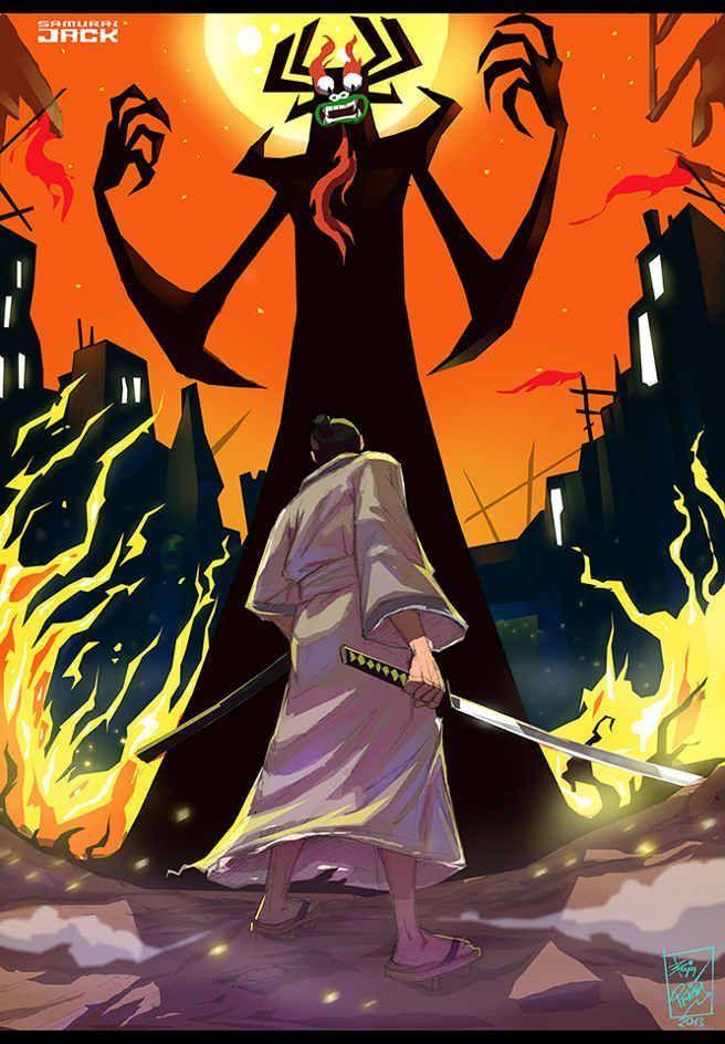 Jack Jack Attack — kenihewa:   Samurai Jack by Olaloye Bolaji  Here's...