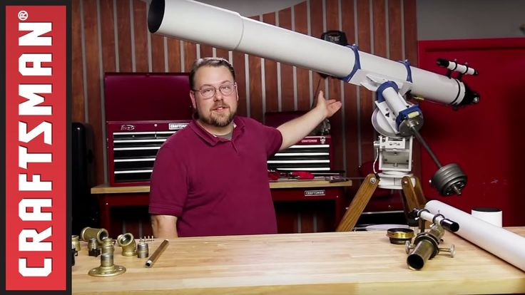 How To Make a Refracting Telescope | Craftsman