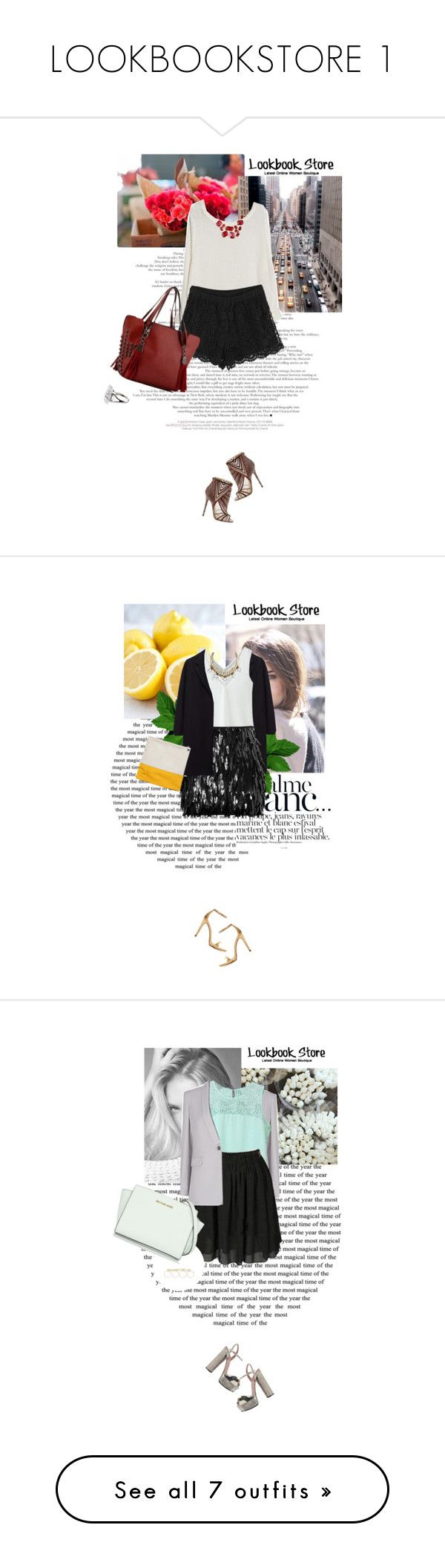 """""""LOOKBOOKSTORE 1"""" by merima-kopic ❤ liked on Polyvore featuring lookbookstore, Paul Frank, Jimmy Choo, Bensimon, The Row, Dsquared2, Zara, L.K.Bennett, Gucci and River Island"""