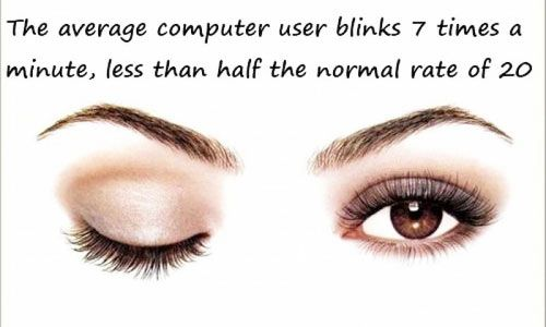 Don't forget to blink! #eyes