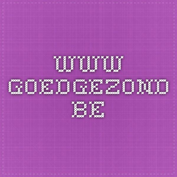 www.goedgezond.be