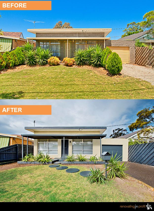 #renovation #facade  See more exciting projects at: www.renovatingforprofit.com.au