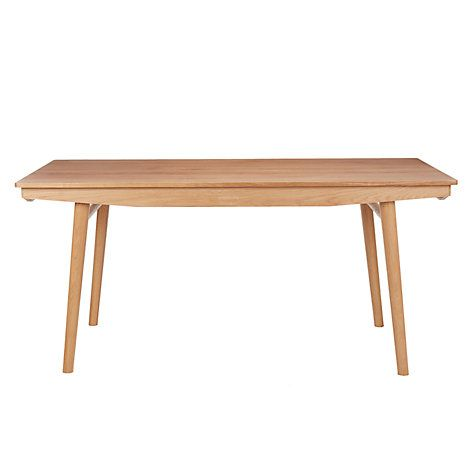 Buy House by John Lewis Bow 6-8 Seater Extending Dining Table Online at johnlewis.com