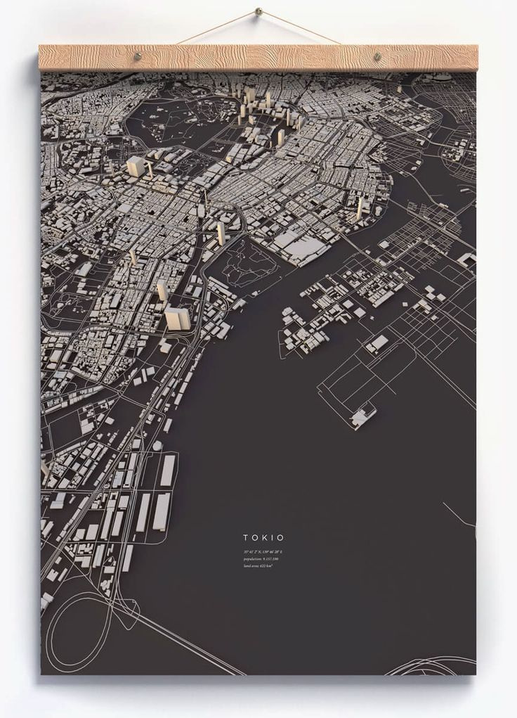 Cities in 3D, Luis Dilger
