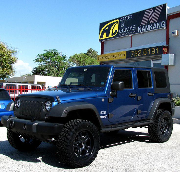 For Sale 2008 Jeep Wrangler Unlimited 4 Door: Best 25+ Blue Jeep Ideas On Pinterest
