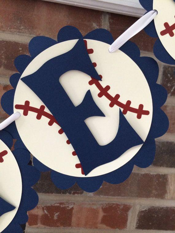 Baseball Baby Shower Banner, Baseball Birthday Banner, Lil Slugger