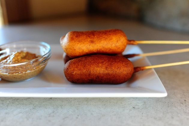 ouille corn dogs breakfast corn dogs easy homemade corn dogs mini beer ...