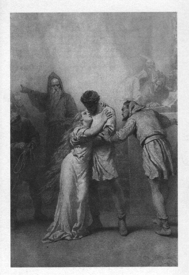 Illusztráció Madách Imre Az ember tragédiája című művéhez: Falanszter (12. szín)  1887