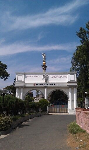 Entrance to Montfort school in Yercaud