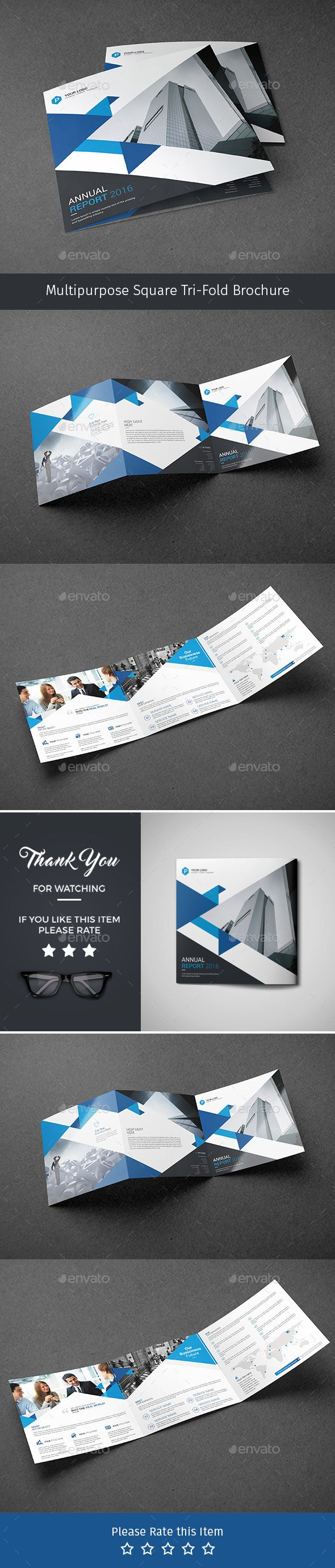 Corporate Tri-fold Square Brochure Template PSD. Download here: http://graphicriver.net/item/corporate-trifold-square-brochure-07/16442556?ref=ksioks