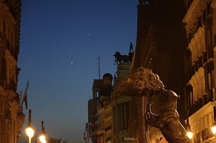La conjunción Venus-Júpiter, en fotos