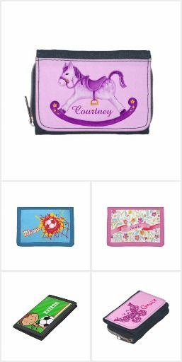 Kids personalized name wallets and purses, ideal use when gifting money to children. Art and design by www.mylittleeden.com #wallets #kidswallets #giftingmoney #giftingmoneytokids