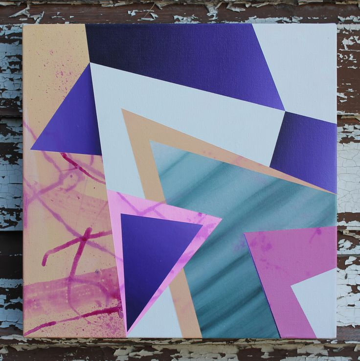 www.facebook.com/blakebeckfordart #geometric #art #abstract #painting # #blakebeckford #texture #acrylic